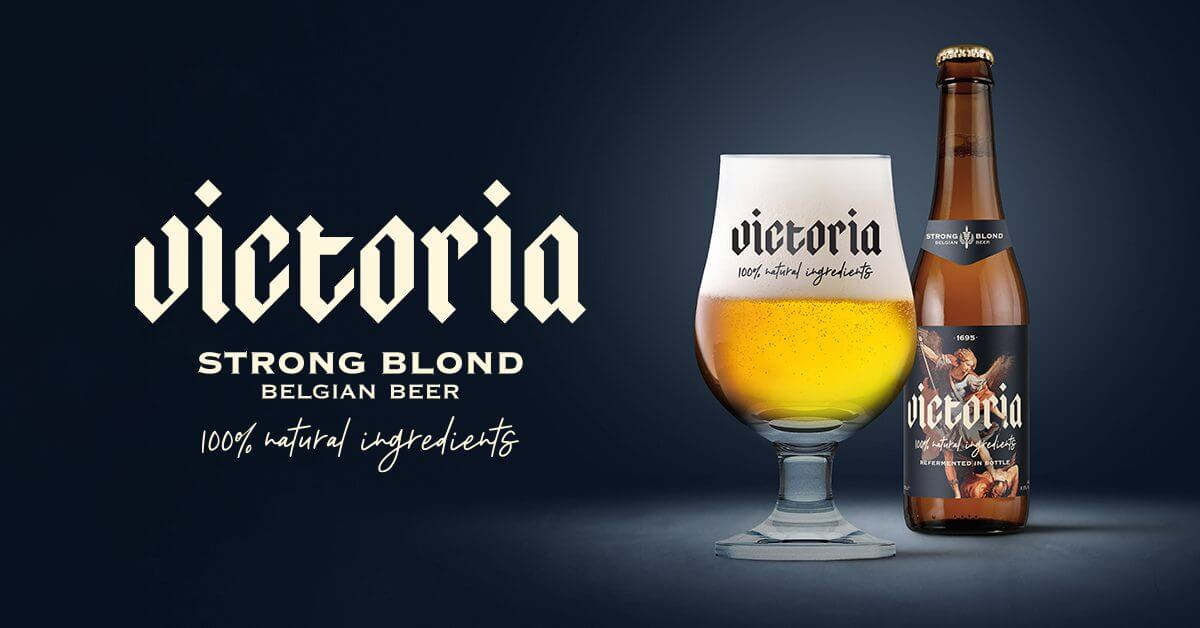 "AB Inbev launches ""Victoria"" a strong blonde beer as an alternative to Duvel."