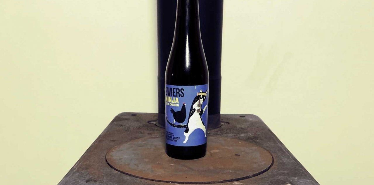 Swiers Ninja Cat & Chicken, the best beer name?