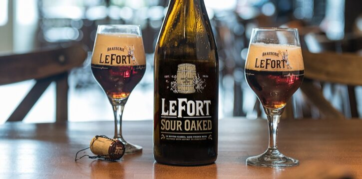 The Belgian Sour Oaked beer